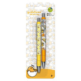 Gudetama Gel Pen 2/pk • 0.7mm Ink Works The Lazy Egg
