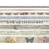 Butterfly Idea-ology Design Tape 8/Pkg Tim Holtz Advantus