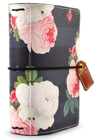 Black Floral Color Crush Pocket Traveler's Planner. Use planners to organize, plan and tell the story of your life.