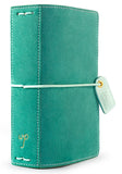 Aspen Green Suede Color Crush Pocket Traveler's Planner. Use planners to organize, plan and tell the story of your life.