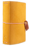 Mustard Suede Color Crush Pocket Traveler's Planner. Use planners to organize, plan and tell the story of your life.