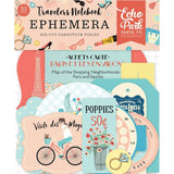 Metropolitan Girl Echo Park Traveler's Notebook Cardstock Die-Cuts 33/Pkg