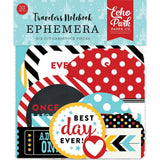 Mouse & Me Echo Park Traveler's Notebook Cardstock Die-Cuts 33/Pkg