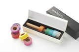 Ivory Masté Washi Tape Dispenser Storage Box With Cutting Edge