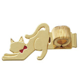 Cat Metal Penholder Zoo Pattern Mark's