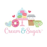 Cream & Sugar Sweet Cake Doodlebug Doodle-Pops 3D Stickers