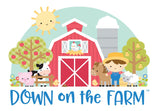 Red Barn Down On The Farm Doodlebug Dooble-Pops 3D Stickers
