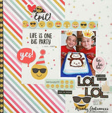Emoji Love Expressions! Washi Tape Simple Stories