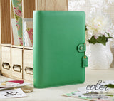 A5 Planner Kit Summer Green Color Crush Webster's Pages (IN STOCK) FREE WASHI TAPE