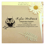 Custom Origami Owl Stamp