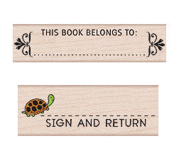 Sign & Return Stamp / This Book Belongs To Stamp