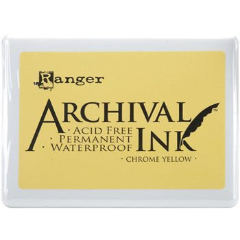 Chrome Yellow Archival Ink Jumbo Ink Pad #3