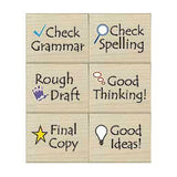 Notes to Students Rubber Stamp