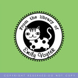 Cat Stamp • Personalized Pre-inked Stamp