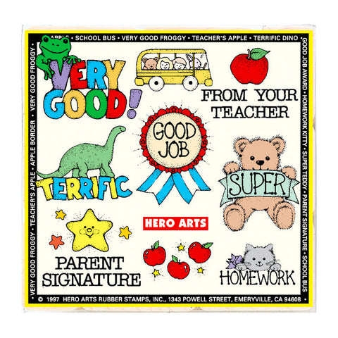 Stamps for Teachers & Parents