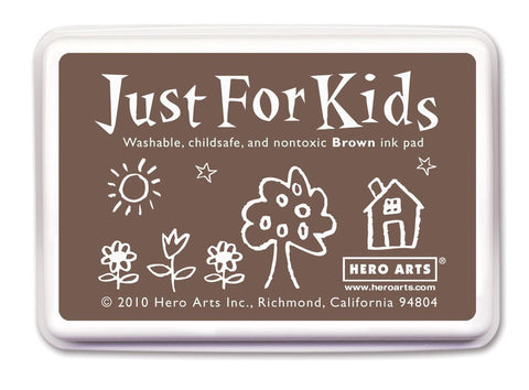 Just For Kids Brown Ink Pad
