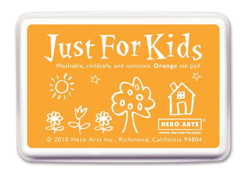 Just For Kids Orange Ink Pad