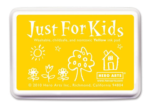 Just For Kids Yellow Ink Pad