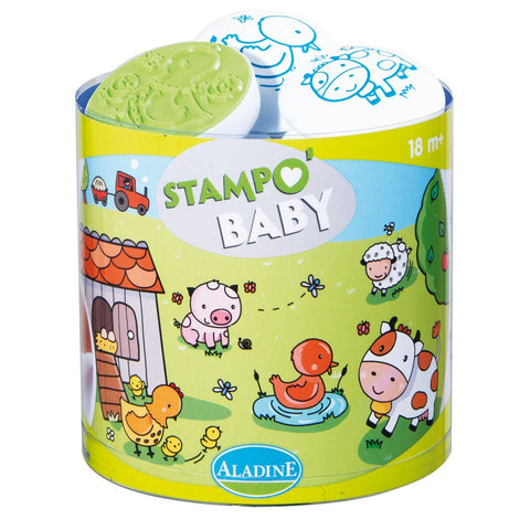 Farm Stamp O'Baby Set for Toddler by Aladine