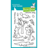 "Critters Down Under Lawn Fawn Clear Stamps 4""X6"""
