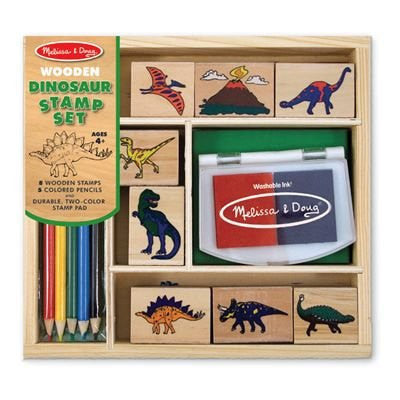 Dinosaur Rubber Stamp Set Melissa and Doug