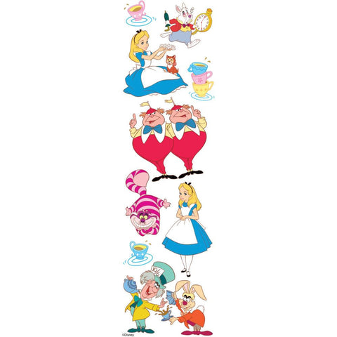 Disney Alice In Wonderland Dimensional Sticker