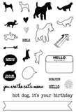 SALE ! Cats & Dogs Clear Stamp