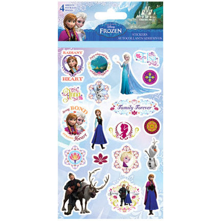 Disney Frozen Sticker (4 Sheets)