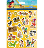Jake and the Never Land Pirates Sticker (2 Sheets)