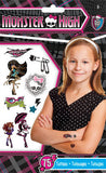 Monster High Temporary Tattoos 75ct