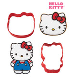 Hello Kitty Cookie Cutter Set 2/Pkg