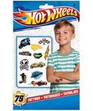 Hot Wheels Temporary Tattoos 75ct