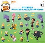 Despicable Me 2 Sticker (2 sheets)