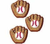 Baseball Mitt Icing Decorations For Baseball Birthday