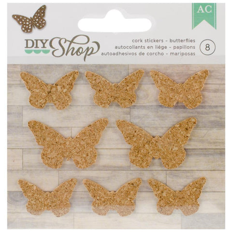 Butterflies Cork Sticker • DIY Shop Cork Sticker