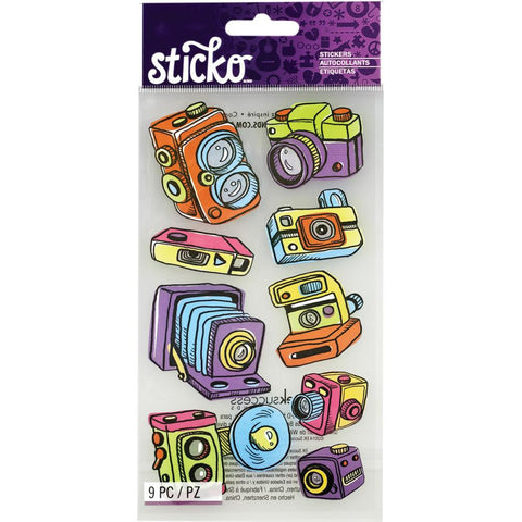 Vintage Camera Sticko Sticker