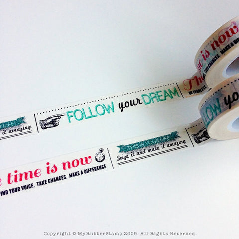 Follow your Dreams Washi Tape Works