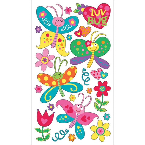 Love Bugs Sticker • Butterfly Sticker Sticko