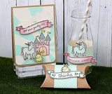 "Good Fortune Lawn Fawn Clear Stamps 4""X6"""