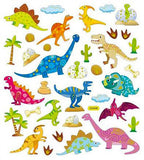 Dino Stickers • Patterned Dinos Sticker