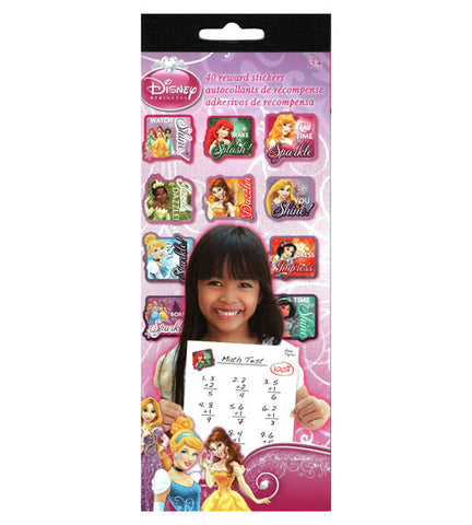 Disney Princess Reward Stickers (40 Princess Stickers)