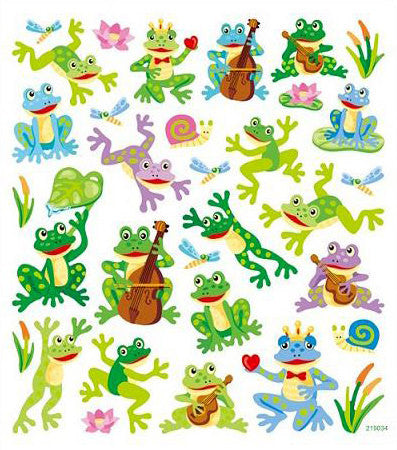 Frog Fun Stickers