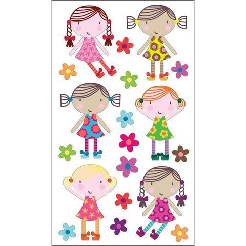 Cute Dolls Sticko Sticker