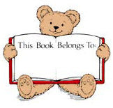 Teddy Bear Bookplate Stamp F106