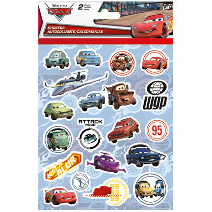Disney Cars Sticker (2 Sheets)