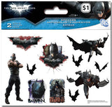 Batman The Dark Knight Rises Stickers (2 sheets)