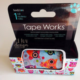 Colorful Owls DecorativeTape Works