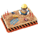 Construction Vehicles 4-Piece Candle Set • Dump Truck Birthday Party