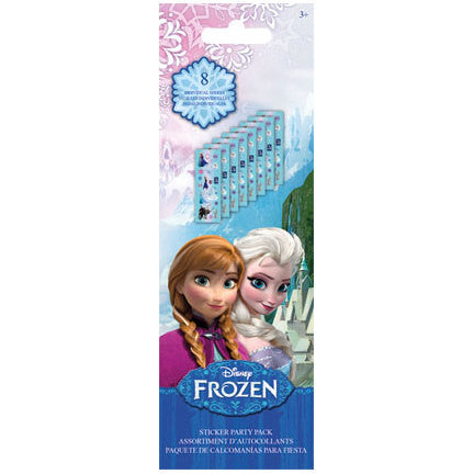 Disney Frozen Sticker Party Pack (8 Sheets)