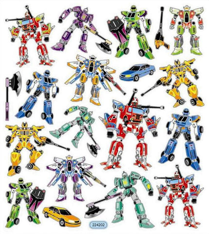 Faux Transformers Stickers • Transformers Stickers